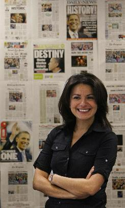 Patti Solis Doyle, former Clinton campaign manager, joined the Obama campaign last month. Solis Doyle, shown here at Obama's Chicago headquarters on July 16, said she doesn't think her longtime friendship with Clinton has been damaged.