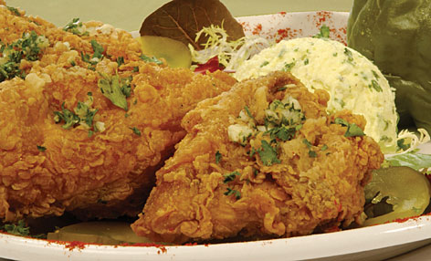 Why is the South so heavy? The traditional Southern diet  high in fat and fried food, like this fried chicken sold at Pampy's Creole Kitchen in New Orleans  may be part of the answer, said Dr. William Dietz.