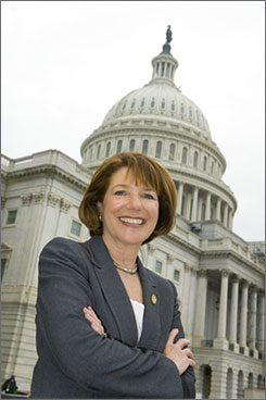 "Rep. Susan Davis, a California Democrat, chairs the military personell subcommittee that?s holding the first formal hearing on ""don?t ask, don?t tell"" since 1993."