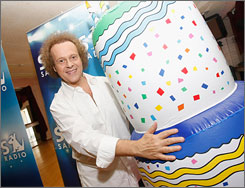 "Richard Simmons, who celebrated his 60th birthday July 12, says, ""A kid who moves is a kid who learns."""
