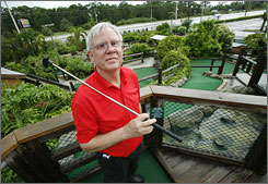 Courses like Jerry Doser's Adventure Mini Golf in Lake Worth, Fla. are one of hundreds of areas affected by proposed changes under the Americans with Disabilities Act.