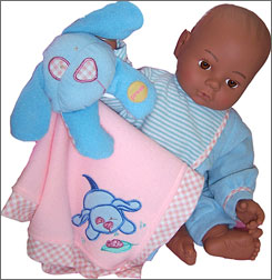 "This ""Baby I'm Yours"" doll contained more than 30% total phthalates, according to the Washington Toxics Coalition."