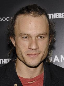Heath Ledger attends a 2007 screening of I'm Not There  at the Chelsea West Cinemas in New York. Federal prosecutors have decided not to pursue a criminal case related to his death from a painkiller overdose this year.