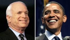 "Presumptive U.S. presidential nominees Senator John McCain and Senator Barack Obama may find it hard to accuse each other of ""flip-flopping"" on the issues. Each candidate has done in a few times this election cycle."