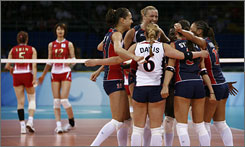 U.S. players celebrated their win against Japan, but the team also grappled with the death that hit close to home.