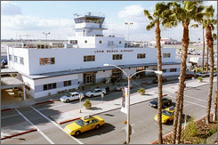 Only two airports had more private plane departues last year than Long Beach Airport.
