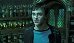 Daniel Radcliffe's Harry Potter had an invisibility cloak unlike the devices made of metamaterials.