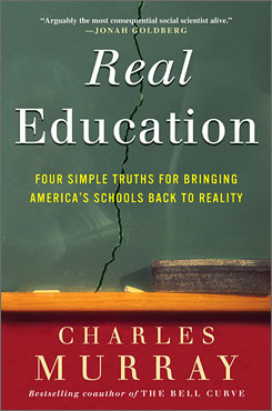 "The cover of the latest book by Charles Murray, author of ""The Bell Curve."""