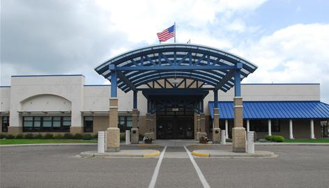 The Centralia Center, converted from an old Wal-Mart store, in Wisconsin Rapids, now houses the Lowell Center for senior activities and dining. Wal-Mart now operates a supercenter on the other side of the town.