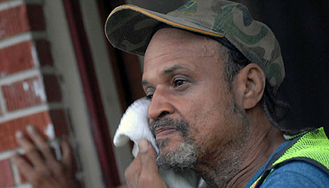 Lemuel Anderson, 54, is struggling to repair his Gulfport home damaged by Hurricane Katrina three years ago.