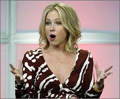 Actress      Christina Applegate opted to have a double mastectomy after she was diagnosed with breast cancer. She had an MRI and advocates them for other women.