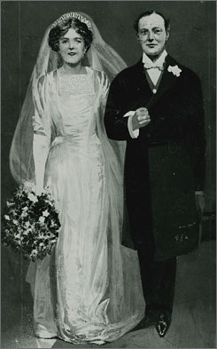 The Churchill Archives Centre has appealed to the public for help finding a photo of Winston and Clementine Churchill on their wedding day, though a drawing exists.