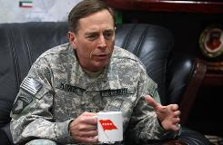 General David Petraeus will take over Central Command, the Florida-based headquarters responsible for Iraq and Afghanistan.
