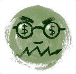 Stock stress, money madness.