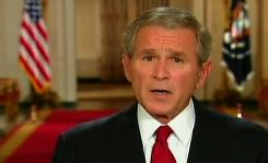 President Bush addresses the country in a prime-time speech on the nation's financial crisis.