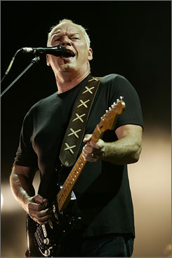 "Pink Floyd singer/guitarist David Gilmour put out his first ""carbon-neutral"" CD in 2006."