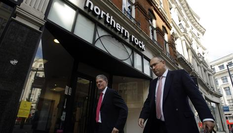 Northern Rock said Thursday it was scaling back savings products because it has too many people lining up to deposit, just months after a bank run led to its nationalization. Many savers now regard government-backed Northern Rock as a safe haven in the global financial storm.