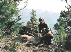Wildlife biologist Eric York, 37, became infected while trying to determine why a female cat had died in Grand Canyon National Park. The culprit that killed him: pneumonic plague.