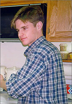 A pathologist says he has a copy of the lost autopsy report from the death of Matthew Shepard, who was beaten to death in Laramie, Wyo., in October 1998, reportedly because he was openly gay. Shepard is seen here in an undated file photo.