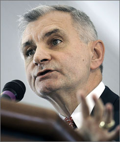 U.S. Senator Jack Reed, D-R.I., won a third term by beating Republican Bob Tingle, who had never held public office.
