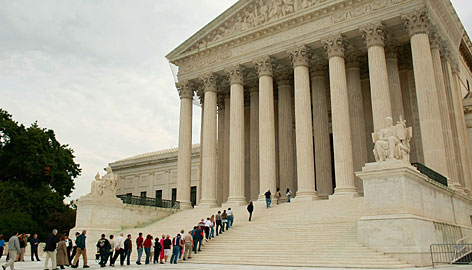 The U.S. Supreme Court, which has upheld some displays, faces a religious symbol in a public place case.