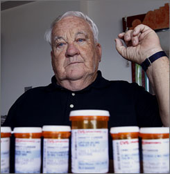 Many seniors are worried about the monthly premiums in the drug-only plans that will go from an average $26.03 in 2006 to $37.10 next year.