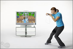 The trend in video games toward virtual personal trainers continues with EA Sports Active, an interactive fitness program being developed with the help of Oprah Winfrey's personal trainer.