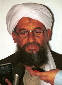 Al-Qaeda No. 2 Ayman al-Zawahri reportedly has called President-elect Barack Obama a derogatory racial term.