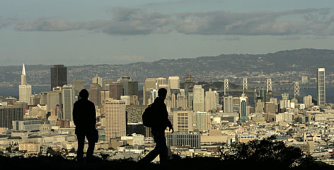 San Francisco is No. 2 on the top-cities list and was singled out for eating and exercise habits.