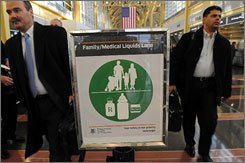 Focus groups identified the need for family lanes, such as at Reagan Washington National Airport.