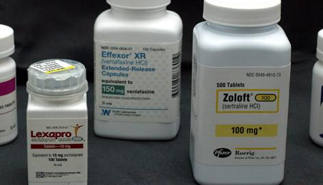 Antidepressant pills Lexapro, Effexor and Zoloft are in the top 10 list of drugs that most need to be studied for off-label prescribing, according to Pharmacotherapy.