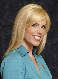 News anchor Anne Pressly, seen here in June, died Oct. 25, 2008 as a result of an Oct. 20 attack.