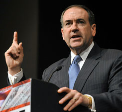"Mike Huckabee said it is ""too early to tell"" if he will make another bid for the GOP nomination in 2012."