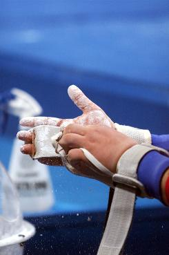 MRIs of the wrists and hands of 12 gymnasts with chronic wrist or hand pain revealed far more than the typical forearm injuries researchers expected.