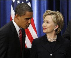 President-elect Barack Obama has sent out a letter asking his donors to help rid Secretary of State-designate Hillary Rodham Clinton of her campaign debt.