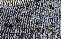 Many U.S. Muslims are postponing pilgrimage to Mecca as they grapple with tough economic times.