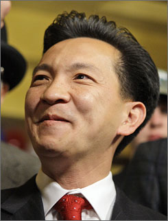 Cao, a Republican                                                   newcomer, won the 2nd                                                   Congressional District                                                   race, 50% to 47%.
