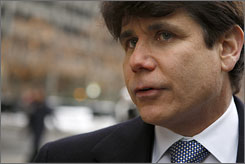 Illinois Gov. Rod Blagojevich tried to manipulate state government to enrich himself and his family, according to 76-page complaint.