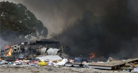 As of Monday night, six homes remained uninhabitable after authorities said the smoke that poured out of the jet wreckage was toxic.