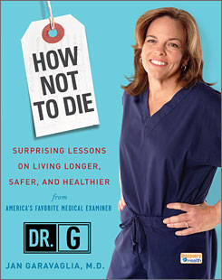 Jan Garavaglia, of Discovery Channel fame, offers interesting case histories in a new book perfect for fans of CSI.