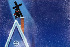 """""""A lot of the Christmas celebration is a nostalgic veneer that doesn't really connect very deeply theologically,"""" says Mary Helene Rosenbaum, head of the Dovetail Institute for Interfaith Family Resources."""
