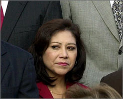 Rep. Hilda Solis, D-Calif., reportedly is President-elect Barack Obama's choice for secretary of labor.