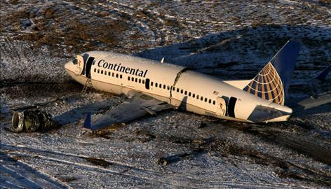 Officials say they still do not have a cause for the accident involving Continental Flight 1404.