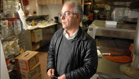 "John Shammas, owner of an Italian restaurant in Fitchburg, Mass., says crime ""is out of control."""