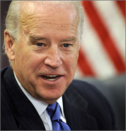 Vice President-elect Joe Biden promises there will be no waste in legislation aimed at stimulating the economy.