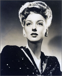 A 1940 photo of veteran movie actress Ann Savage. She died in her sleep on Chrstmas Day at the age of 87.