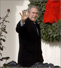 Lawrence Wilkerson, top aide and later chief of staff to former Secretary of State Colin Powell, said that as a new president, Bush was like Alaska Gov. Sarah Palin, the 2008 GOP vice presidential nominee whom critics said lacked knowledge about foreign affairs.
