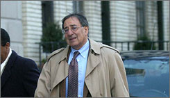 President-elect Barack Obama has picked former Bill Clinton chief of staff Leon Panetta to head the CIA. Here, Panetta is seen in December 2006 in Washington when he was a member of the Iraq Study Group.