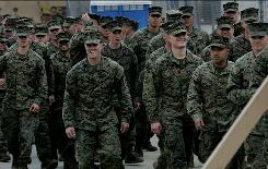 "Camp Pendleton, Calif., Marines won't be spending any of their ""R&R"" time in popular Tijuana and nearby beaches after an order banning them from there. A public information officer says it's to look out for the Marines' safety and well-being."