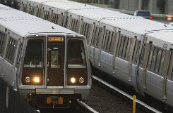 The Washington Metropolitan Area Transit Authority's rail system has 86 stations in Washington, Maryland and Virginia, 106 miles of track and 420 police. Each rail car can hold about 150 people.